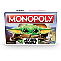 Monopoly: Star Wars The Child Edition Board Game for Families and Kids Ages 8 and Up, Featuring The Child, Who Fans Call…