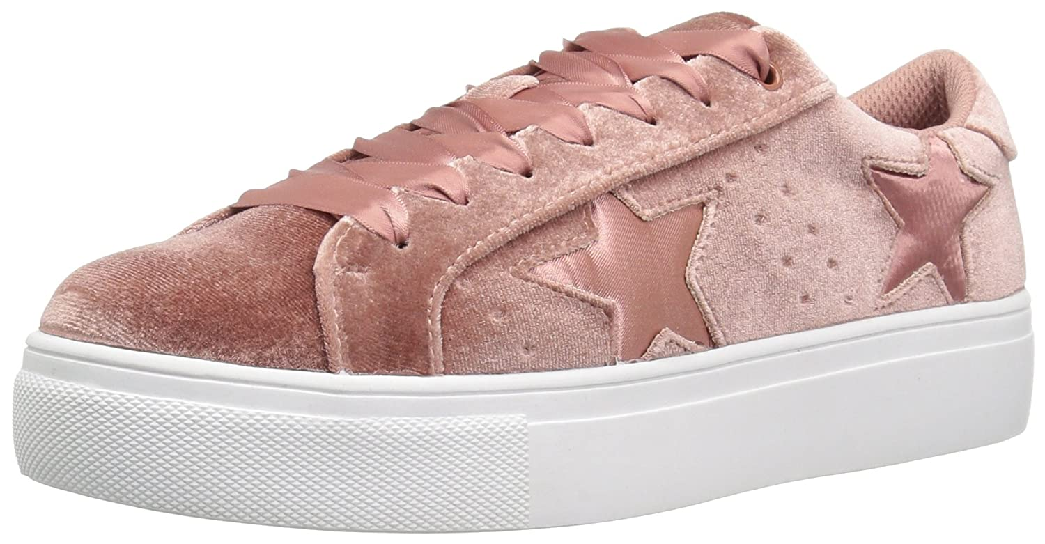 Madden Girl Women's Starstrk Fashion Sneaker B01NCJZ86O 8 B(M) US|Blush Velvet