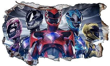 Amazon.com: Power Rangers Ninja Steel V401 Wall Crack Wall ...