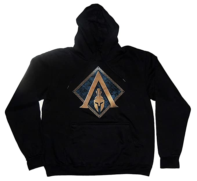 Assassins Creed Sudadera Odyssey Color Negro Talla Adulto (Negro, ...