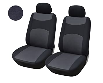 Awesome 116001 Black Fabric 2 Front Car Seat Covers For Charger Challenger Dart Journey Durango 2020 2019 2018 2007 Forskolin Free Trial Chair Design Images Forskolin Free Trialorg