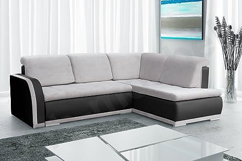 Great Ecksofa Sofa Eckcouch Couch Mit Schlaffunktion Und Bettkasten Ottomane L  Form Schlafsofa Bettsofa Polstergarnitur   Great Ideas