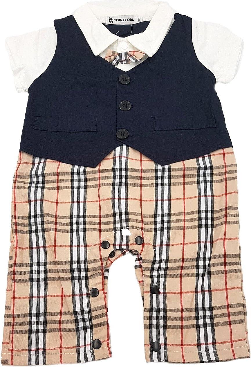 pantaloncini Pagliaccetto a maniche corte per bambini 1 anno di compleanno FYMNSI corona e fascia set da 3 pezzi in cotone Gentleman con papillon a forma di papillon