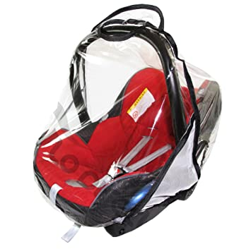 Universal Car Seat Rain Cover To Fit Maxi Cosi Brand All Other Seats VENTILATED