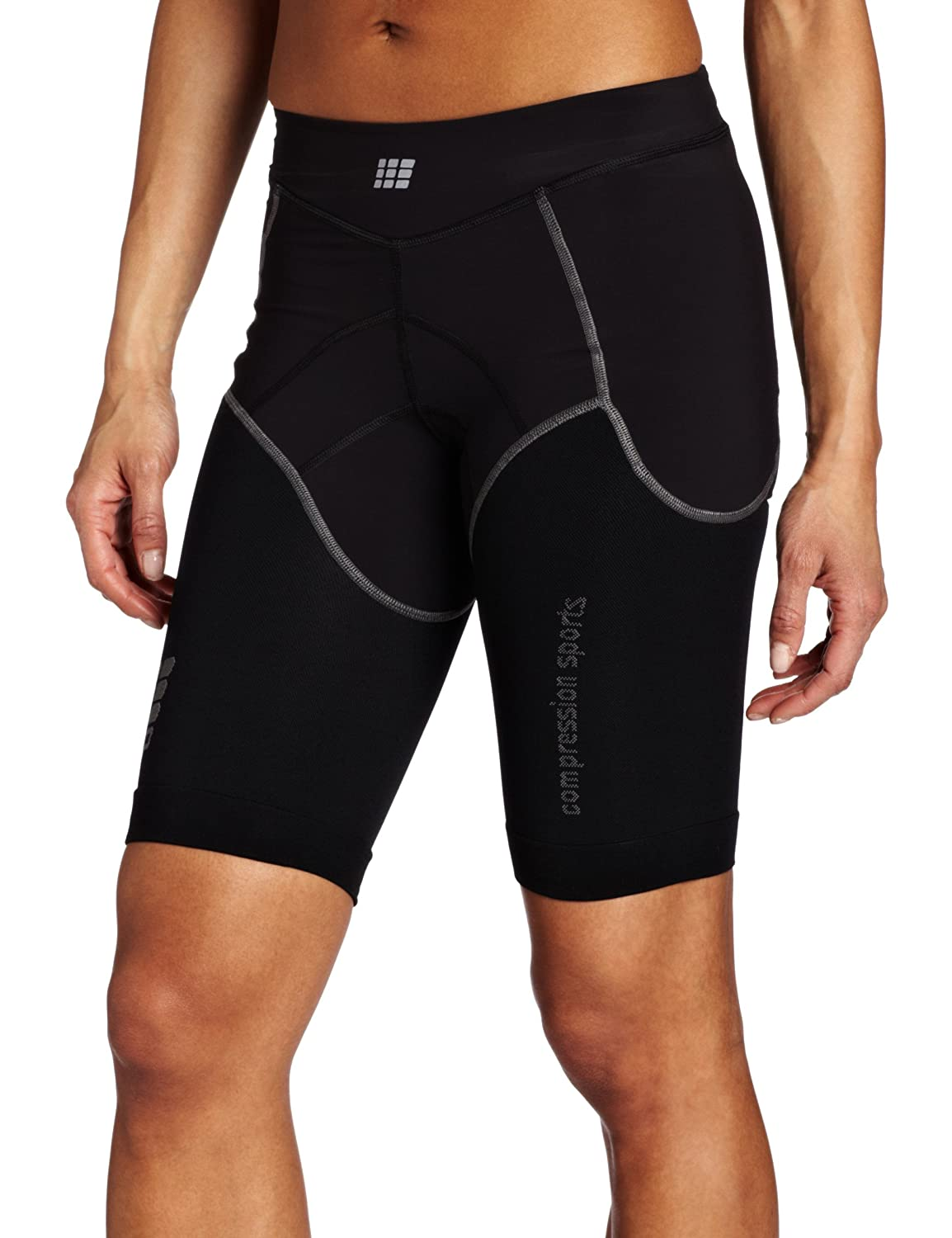 Cep Compression Sportswear Cep Women's Compression Tri Short, Black I