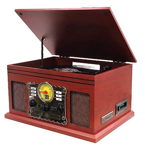 Nostalgie Retro Minicadena | Tocadiscos | Equipo estéreo ...