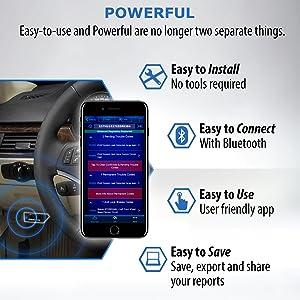 BlueDriver Bluetooth Professional OBDII