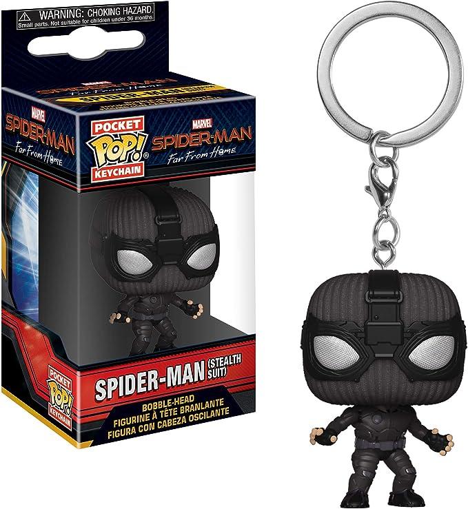 Spider-man figurine porte-clés Super héros Marvel Spiderman Keychain shmvk 301