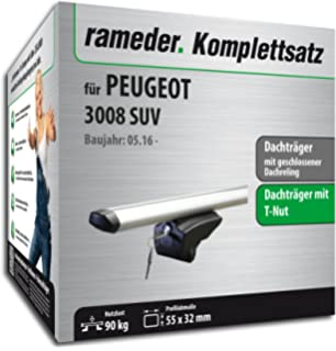 VDP Alu Relingtr/äger CRV107A kompatibel mit Renault Koleos II 5 T/ürer ab 2017 abschliessbar