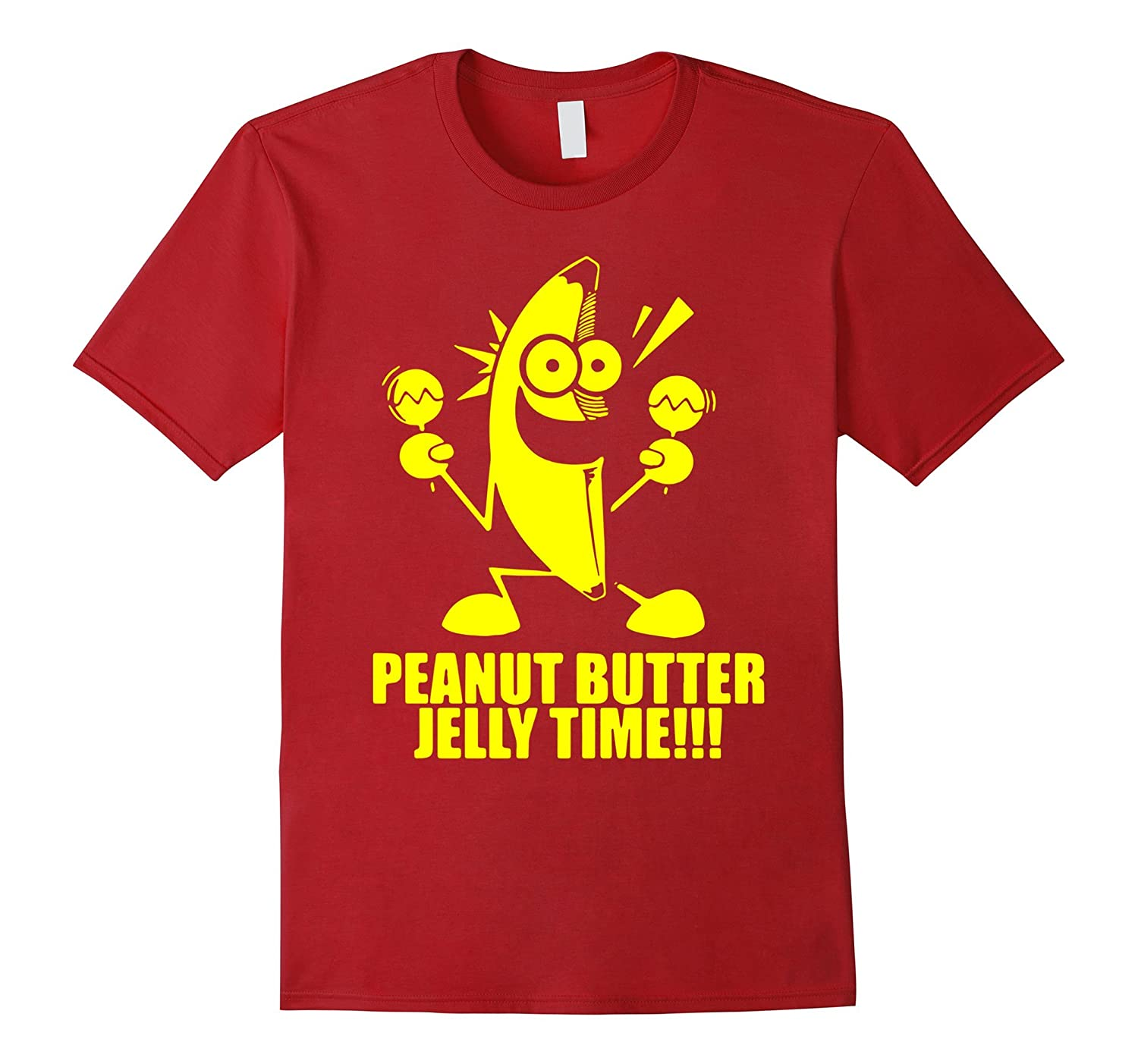 Banana Peanut Butter Jelly Time Shirt Premium-RT