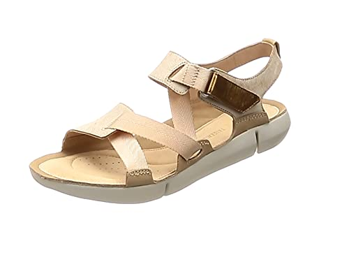 90273c0f9d97 Clarks Women s s Tri Clover Sling Back Sandals  Amazon.co.uk  Shoes ...