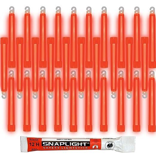 Cyalume SnapLight Vert 15cm B/âton Lumineux Glow Stick Light Stick Fluorescent Dur/ée 12 heures Bo/îte de 20