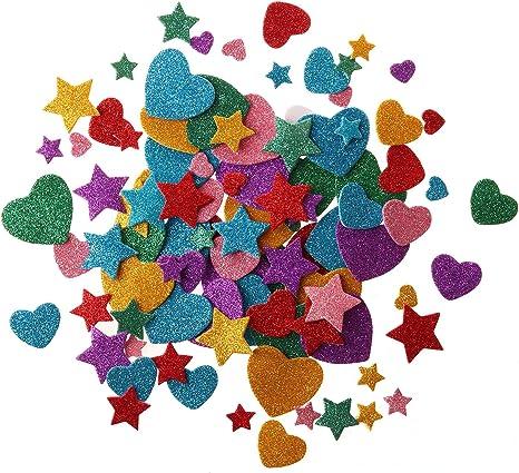 Darice 160 Flowers Peel Off Foam Stickers~Arts /& Crafts~Scrap booking~School from Darice