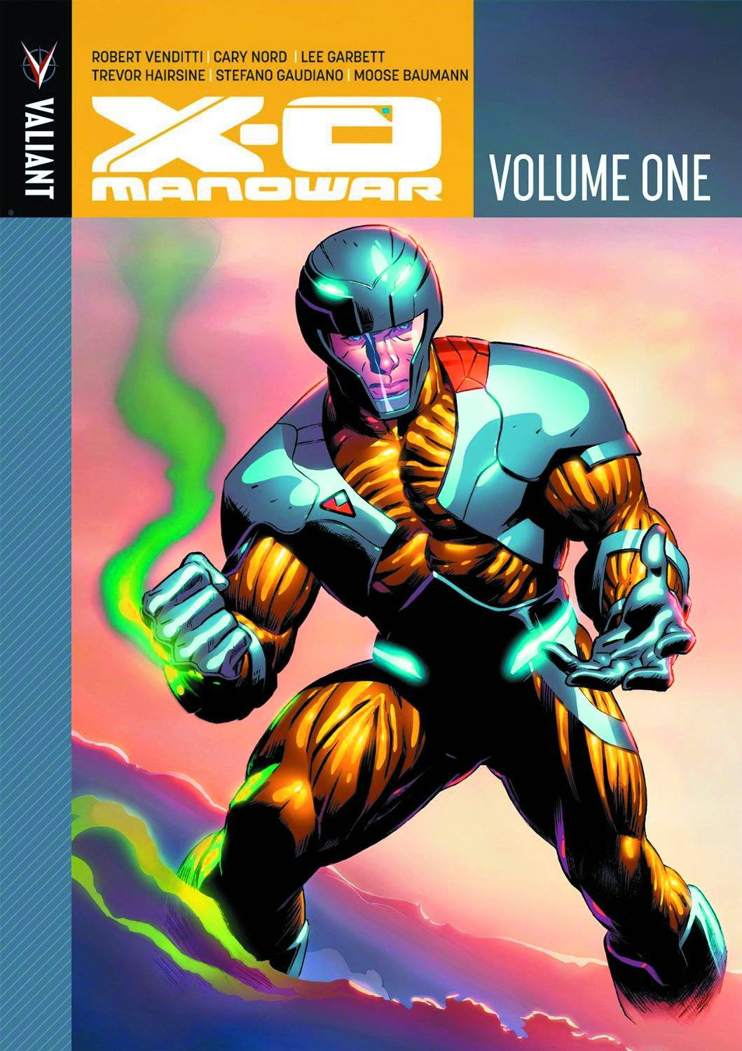 X-O Manowar Volume 1: Robert Venditti, Cary Nord, Lee Garbett, Trevor  Hairsine: 9781939346100: Amazon.com: Books