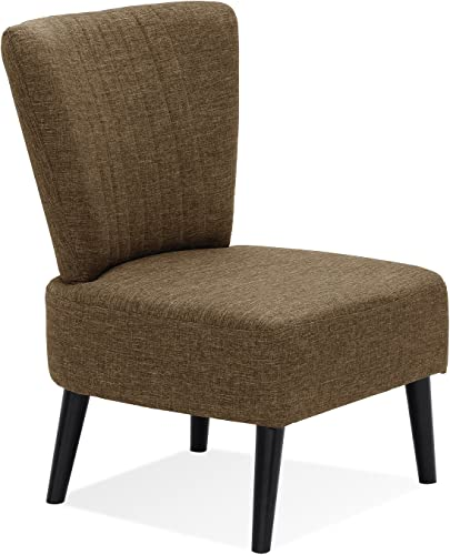 Furinno Euro Modern Armless Fabric Accent Chair