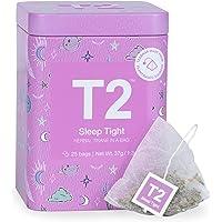 T2 Tea Sleep Tight Herbal Tea, Herbal Tea Bags in Limited Edition Tin, 37.5 g