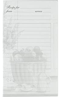 Elegant Meadowsweet Kitchens Lined Recipe Page Refill Pack For The Treasured Family  Recipes Organizer