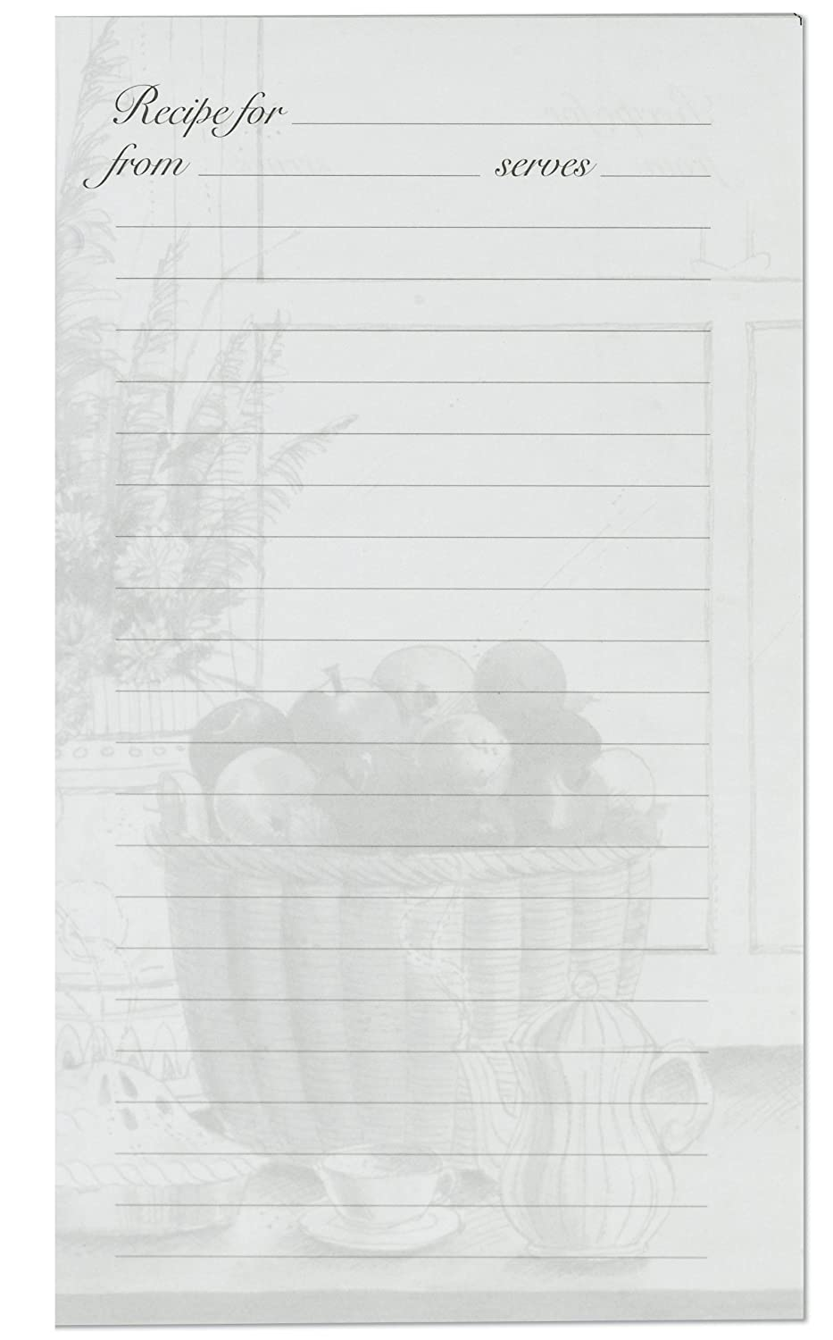 Amazon.com: Meadowsweet Kitchens Lined Recipe Page Refill Pack For The  Treasured Family Recipes Organizer: Recipe Holders: Kitchen U0026 Dining