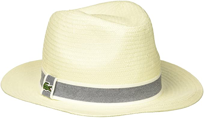 Lacoste Men s Woven Straw Hat at Amazon Men s Clothing store  1e6408a66fd