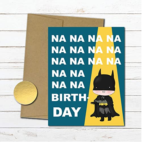 Amazon Batman Birthday Card Superhero Gift For Him
