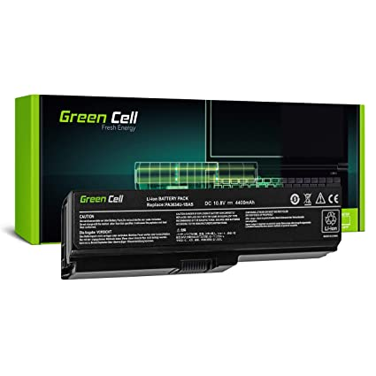 Green Cell® Standard Serie PA3817U-1BRS Batería para Toshiba Satellite C650 C650D C655 C660