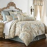 Waterford Linens Bogden Collection King Bedskirt Cinnabar COMINHKR033901