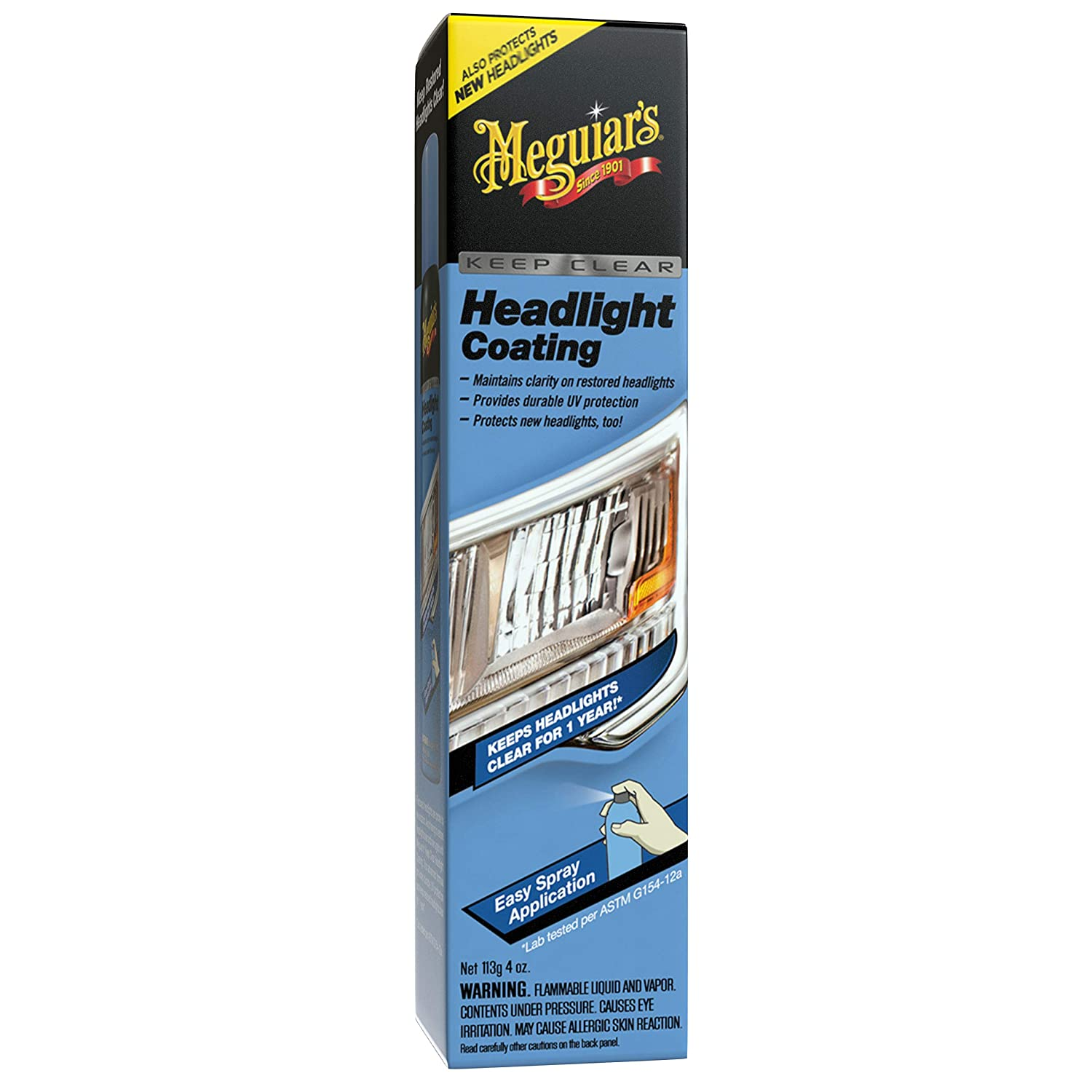 Meguiars G17804 Keep Clear Headlight Coating 4 Oz 1997 Honda Accord Wiring Harness Maintain The Clarity Of Your Headlights Automotive