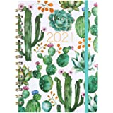 "Planner 2021 - Weekly & Monthly Planner 8.5"" x 6.4"", Jan 2021 - Dec 2021, Flexible Hardcover, Strong Binding, Thick…"