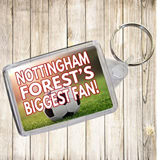 Football Keyring Stocking Filler Nottingham Forest/'s Biggest Fan