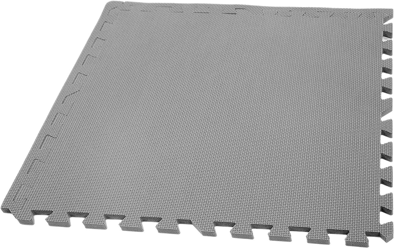 IncStores Eco Soft Foam Tiles 2ft x 2ft Tiles Interlocking Foam Flooring Mats with Removable Edges