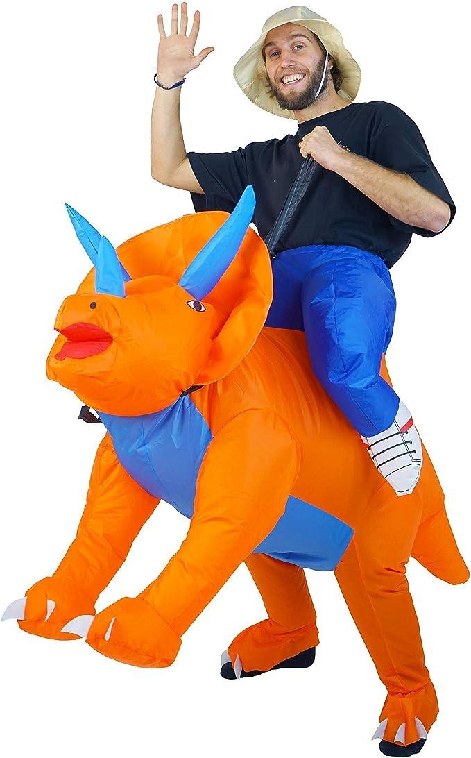 Bodysocks Disfraz Hinchable de Triceratops: Amazon.es: Juguetes y ...