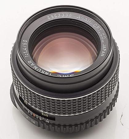 Amazon com : Pentax Asahi SMC Takumar 50mm 1:1 4 1 4 50 mm