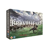 Braveheart: Limited Edition Gift Box Set Includes Exclusive Art Cards + Script + 20th Anniversary Commemorative Coin in Leather Pouch (2-Disc Limited Edition) (Region Free + Fully Packaged Import)