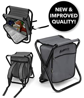 GigaTent Folding Cooler and Stool Backpack - Multifunction Collapsible  Camping Seat and Insulated Ice Bag with 42b2077181920