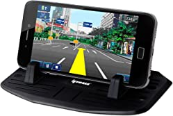 Upgrade Second Generation IPOW Car Silicone Pad Dash Mat Cell Phone Mount Holder Cradle Dock For Phone Samsung Galaxy S7/S6/S5/S4 edge 7,iPhone 7/6/6S(plus) SE,Table PC Holder With 2 Size Holder Parts