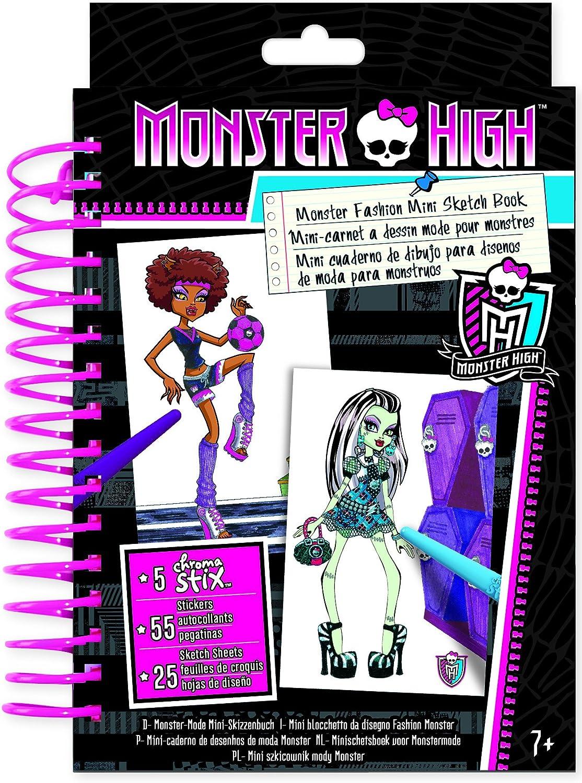 Monster High 64004 Loisir Creatif Mini Carnet A Dessin Amazon Fr Jeux Et Jouets