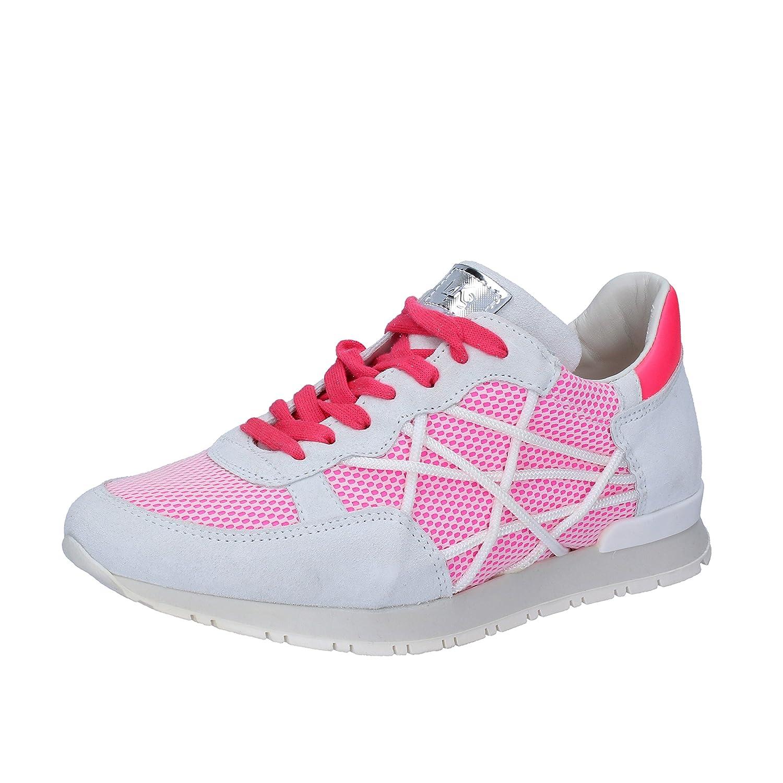 L4K3 - Zapatillas para mujer 36 EU|Bianco / Rosa