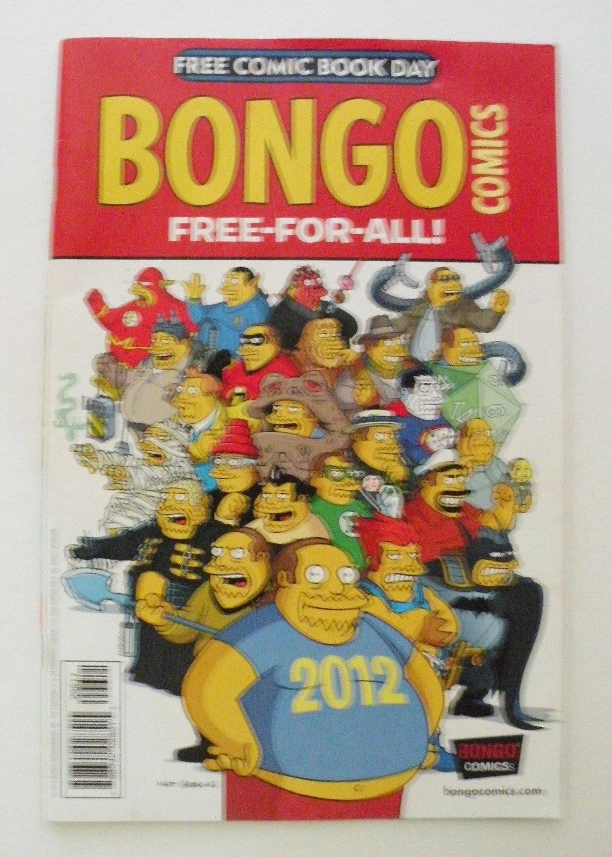 Download Bongo Comics Free-For-All / SpongeBob Comics Freestyle Funnies FCBD 2012 pdf