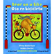 Bear on a Bike / Oso en bicicleta (English and Spanish Edition)