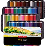 160 Colored Pencils,Artist Pencils Set for Coloring Books,Ideal for Coloring and Drawing,Shading&Sketching,Vibrant…