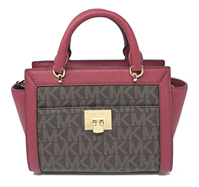 Image Unavailable. Image not available for. Color  Michael Kors Tina Small  Top Zip Messenger 0856d03565