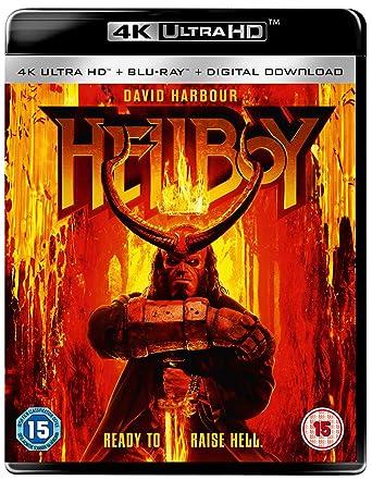 Hellboy 4K [Blu-ray] [2019]: Amazon co uk: David Harbour, Daniel Dae