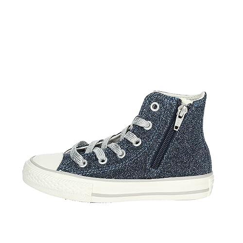 89154e5398dee Converse Scarpe Bambina Sneakers Alte 661007C Ctas Side Zip Hi  Amazon.it  Scarpe  e borse