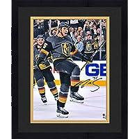 "$139 » Framed Ryan Reaves Vegas Golden Knights Autographed 16"" x 20"" Black Jersey Goal Celebration Photograph - Autographed NHL…"