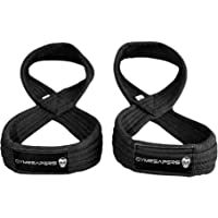 Gymreapers Figure 8 Lifting Straps for Deadlift, Powerlifting, Strongman, Cross Training Strong Weightlifting Wrist…