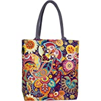 Sangra Fashion Canvas Tote Bag for Women (Multi-Color)