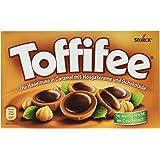 Toffifee - Haselnusspralinen mit Karamell und Nougatcreme - 125g, 1 Packung (15 Stück)