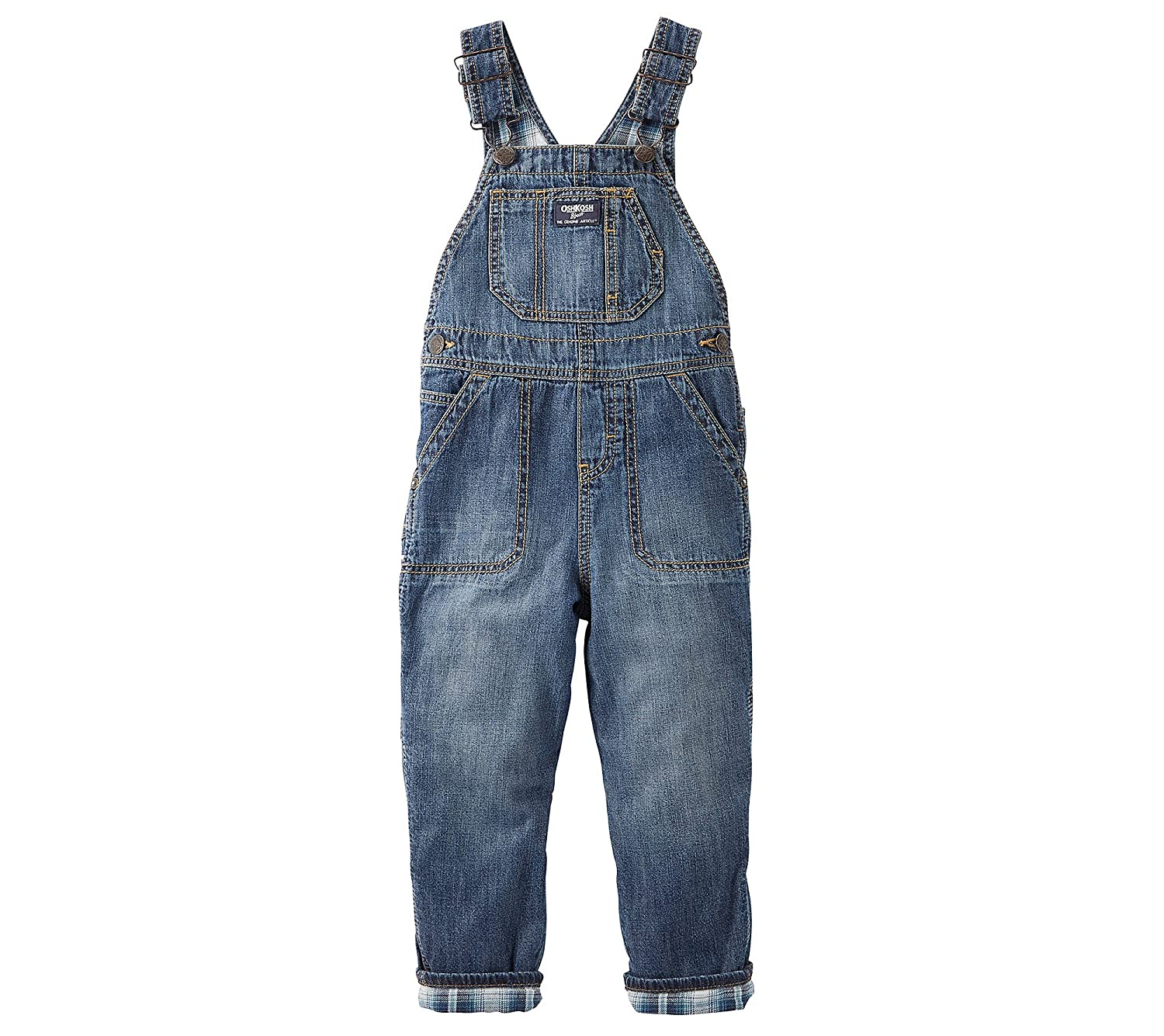 OshKosh B'gosh Flannel Lined Overalls (Baby/Toddler)