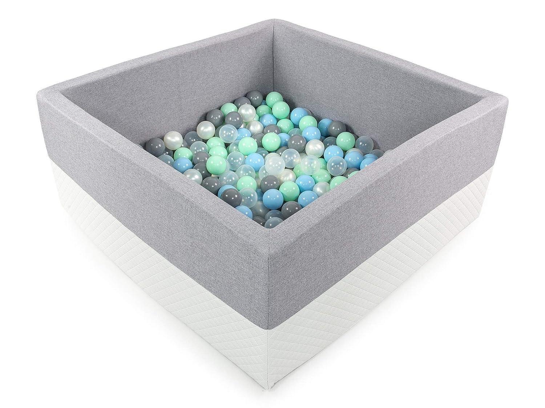Tweepsy B/éb/é Piscine A Balles pour Enfants Bambin 250 Balles 90x90X40cm BKWE2 Fabriqu/é en EU