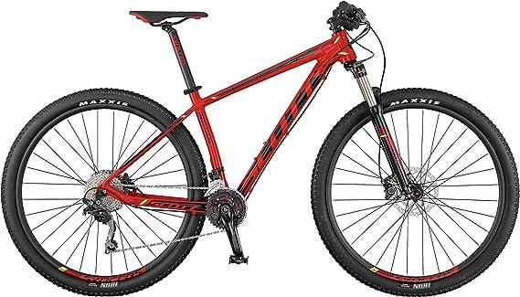 Scott Scale 770 - Bicicleta de montaña, rojo: Amazon.es: Deportes ...